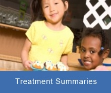 autism treatment summaries